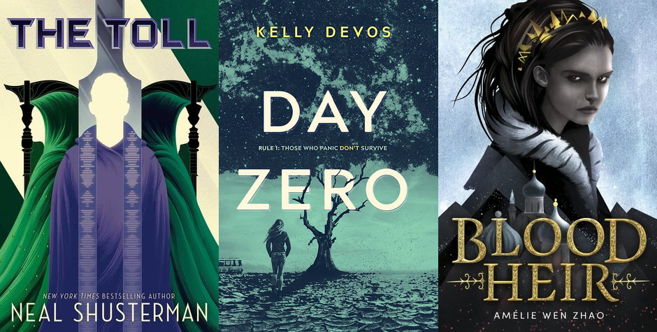 new book releases november 2019: The Toll, Day Zero, Blood Heir