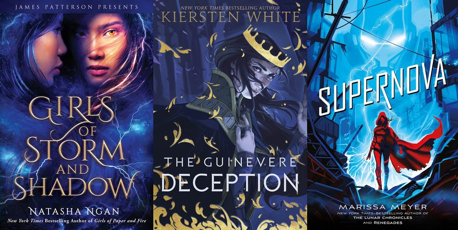new book releases november 2019: GOSAS, The Guinevere Deception, Supernova
